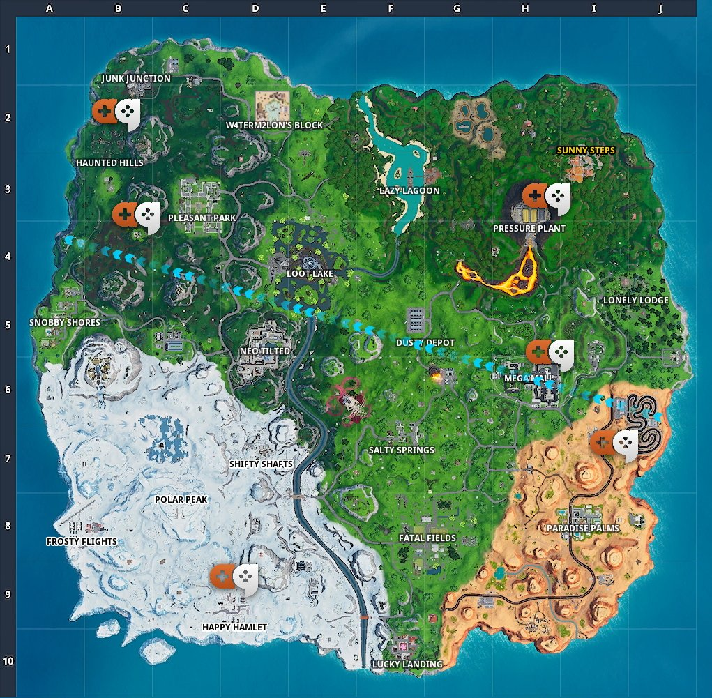 Fortnite Battle Royale: Best places to land to find loot