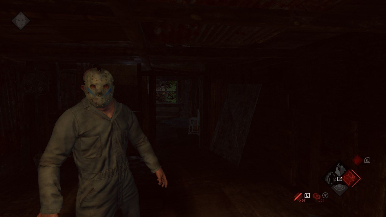 Friday the 13th: The Game handheld vs. docked