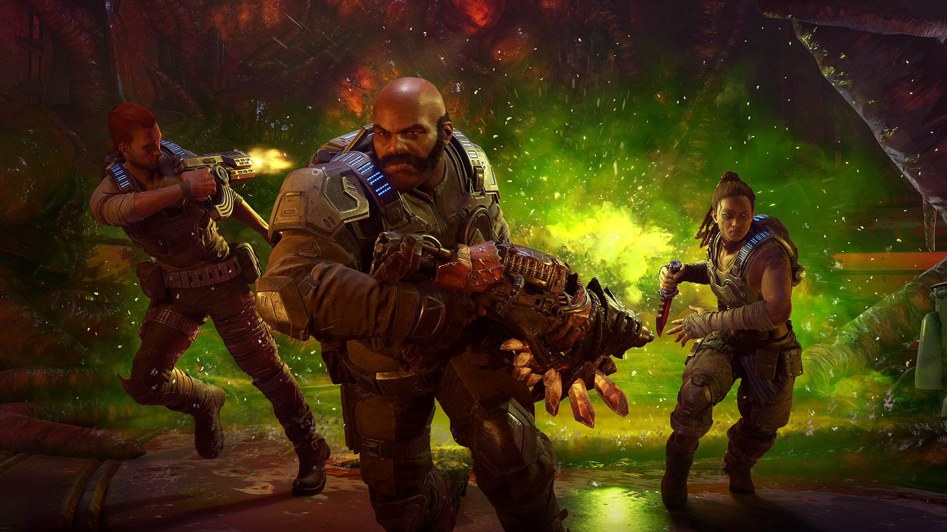 Gears 5 is getting a Halo: Reach crossover with characters available to use in co-op modes.