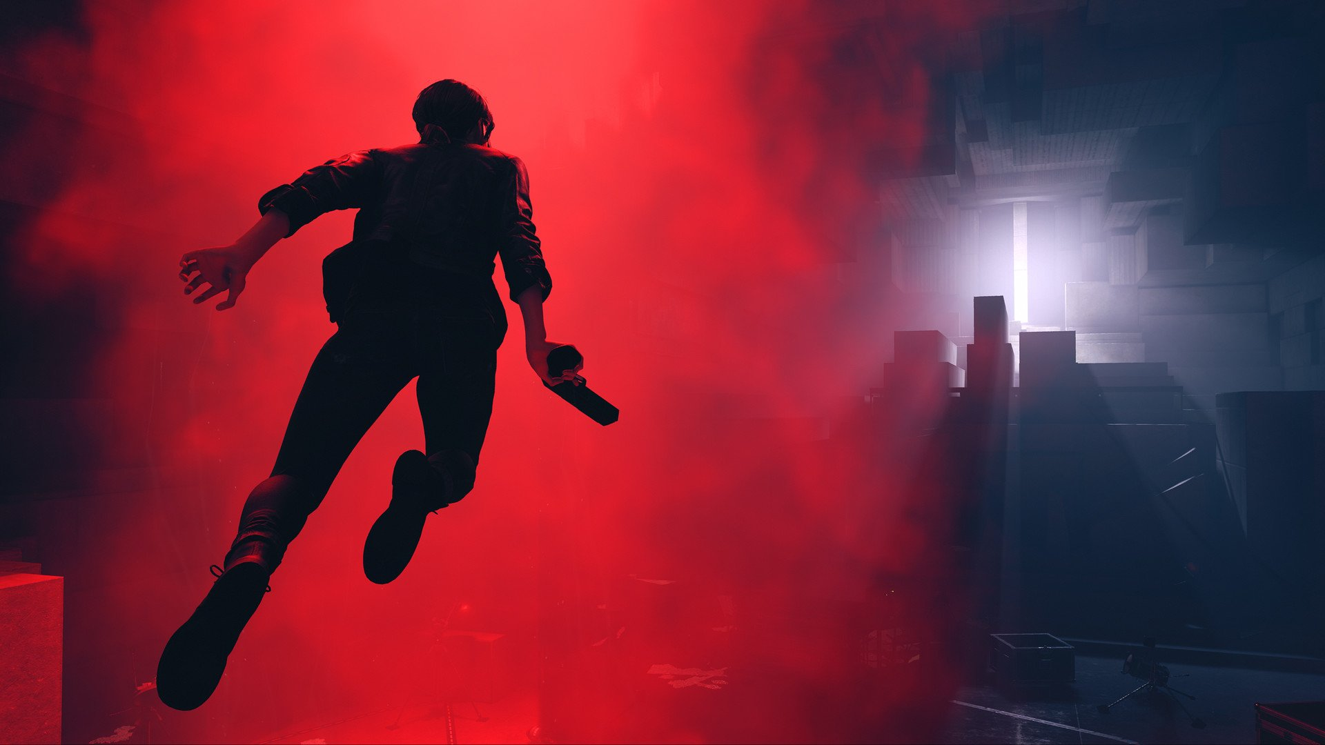 Developers at Remedy Entertainment estimate it'll take players anywhere from 10 to 15 hours to beat Control. © Remedy Entertainment