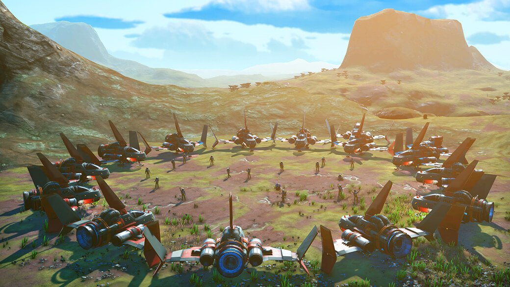 How to access the Nexus Space Anomaly in No Man's Sky - Multiplayer meeting