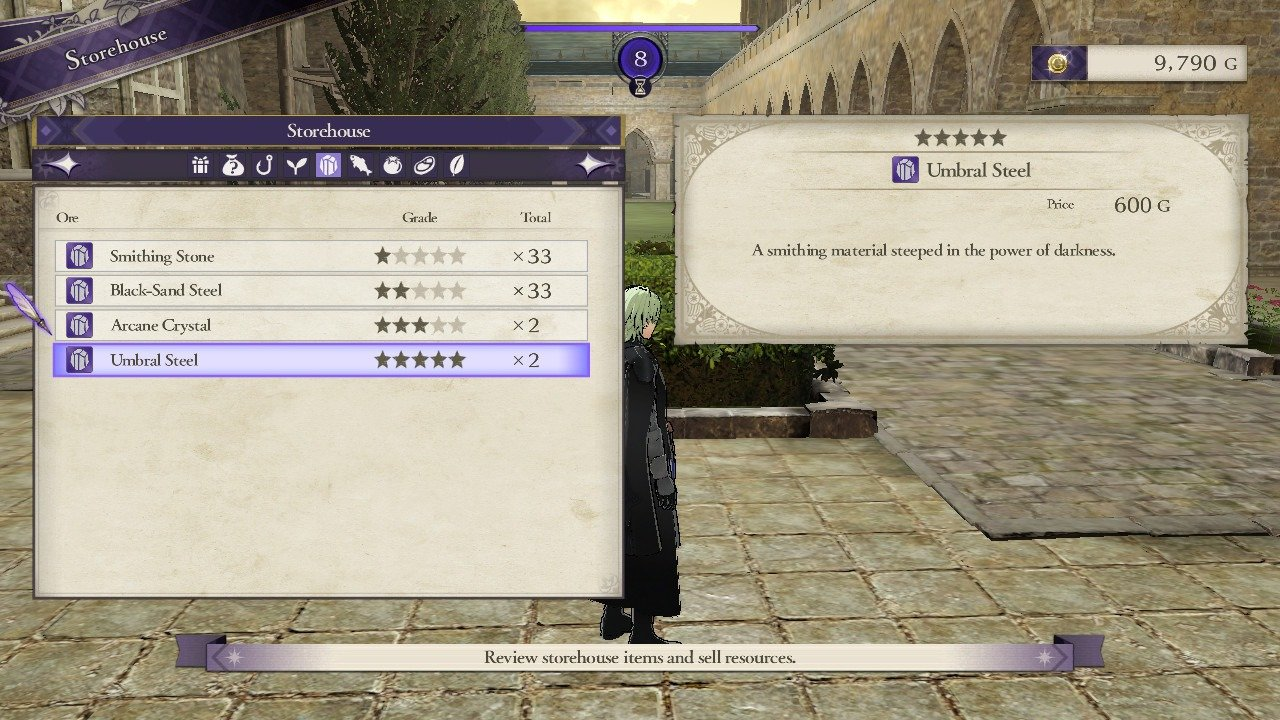 How to get all Forge materials in Fire Emblem: Three Houses