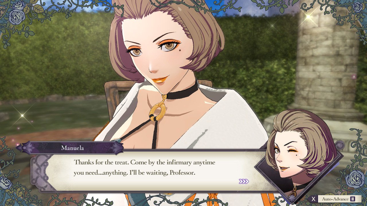How to invite to tea in Fire Emblem: Three Houses