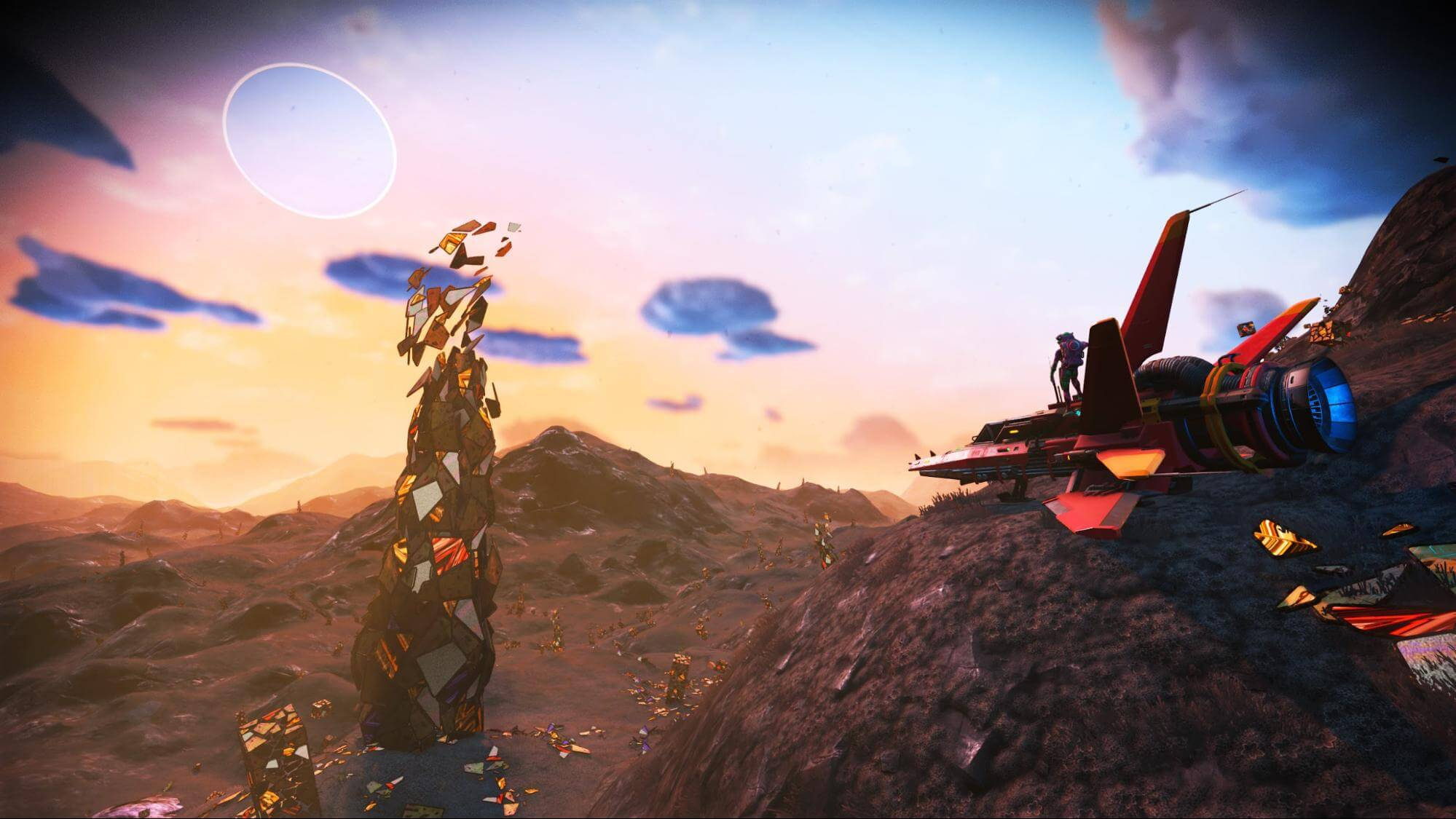 How to use the Mineral Extractor in No Man's Sky Beyond