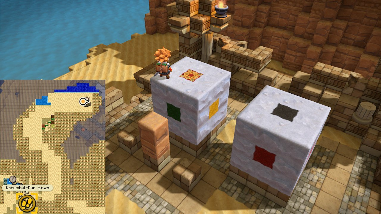 Dragon Quest Builders 2 mini medal puzzles Khrumbul-Dun locations