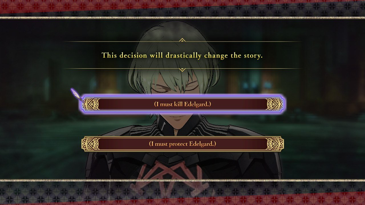 Kill or protect Edelgard in Fire Emblem: Three Houses