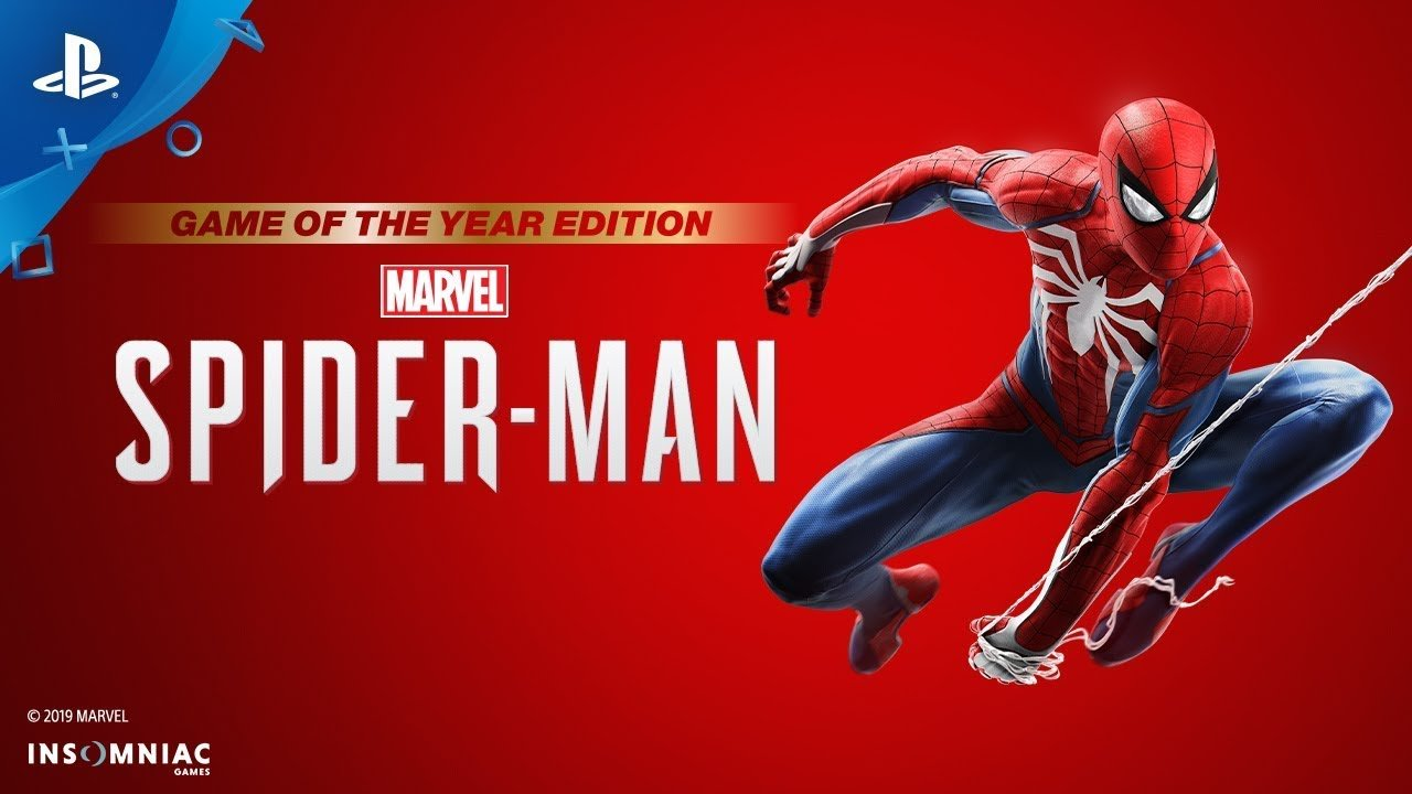 GOTY Edition revealed for Marvel's Spider-Man