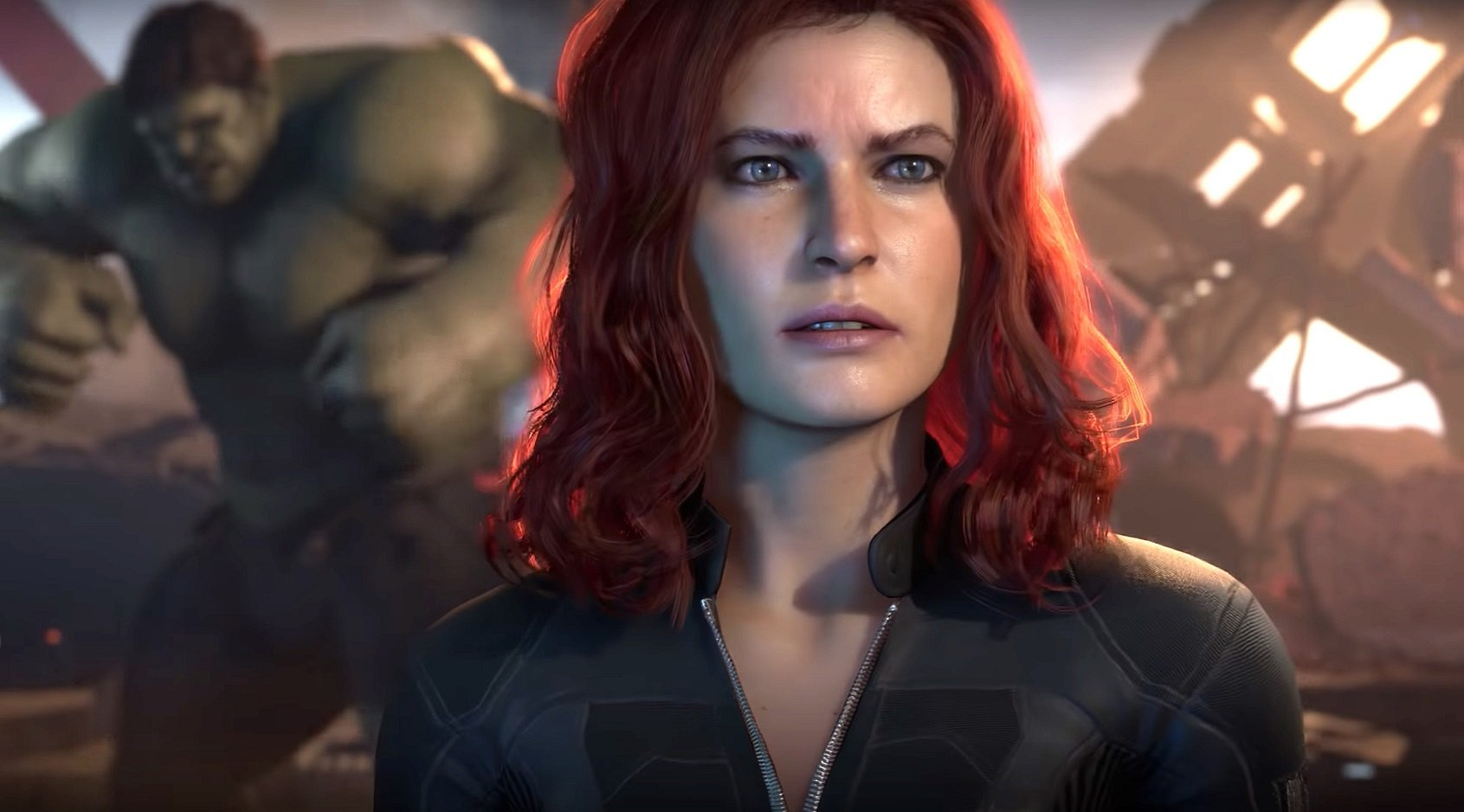 Marve's Avengers gameplay preview