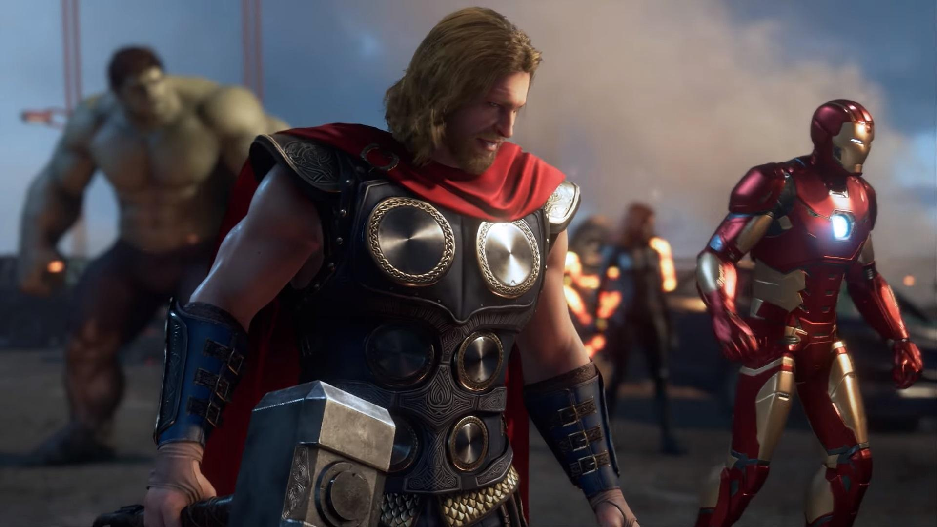 Marvel's Avengers gameplay preview
