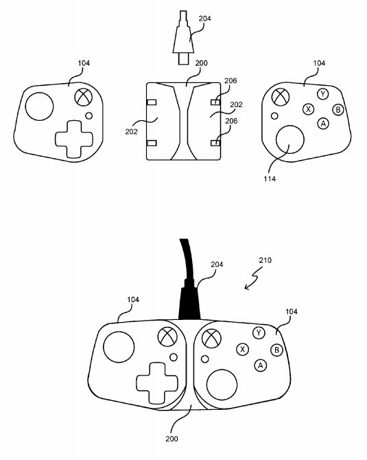 Microsoft controller patent project xCloud