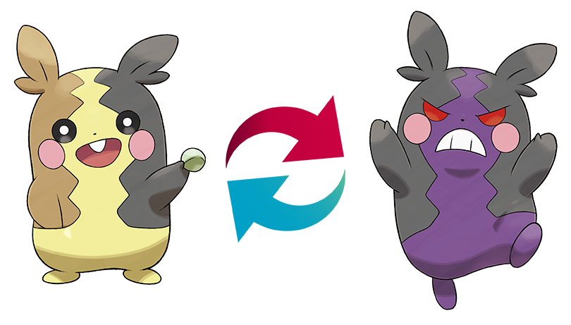 Morpeko Pokemon Sword and Shield