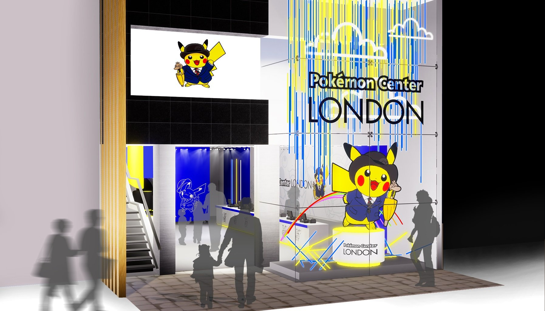 London getting temporary Pokemon Center