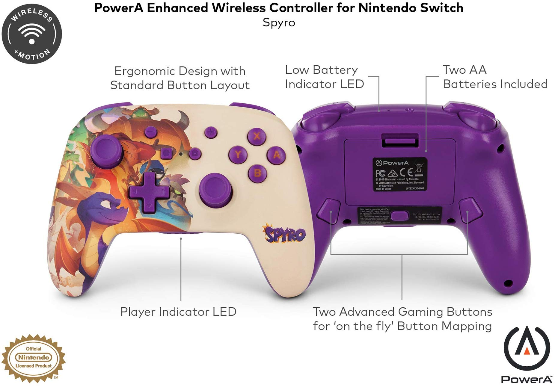 You can now buy a Spyro controller for Nintendo Switch
