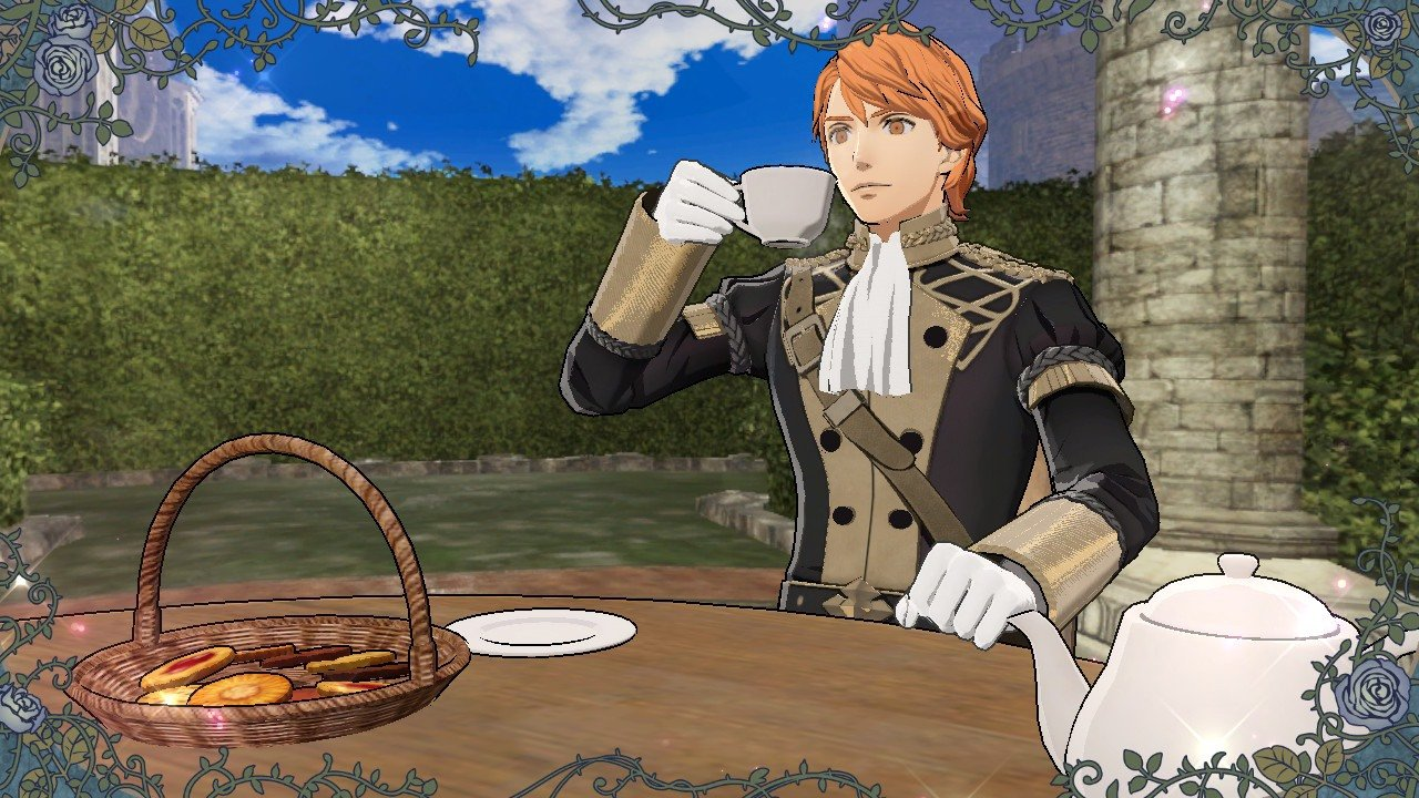 Ferdinand - Tea Party guide for Fire Emblem: Three Houses