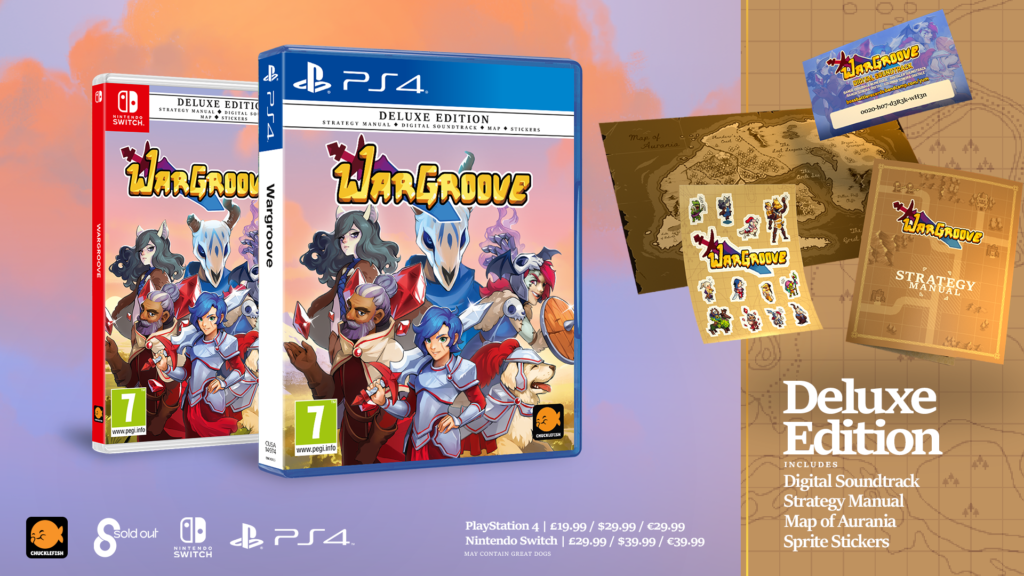 Wargroove physical deluxe edition