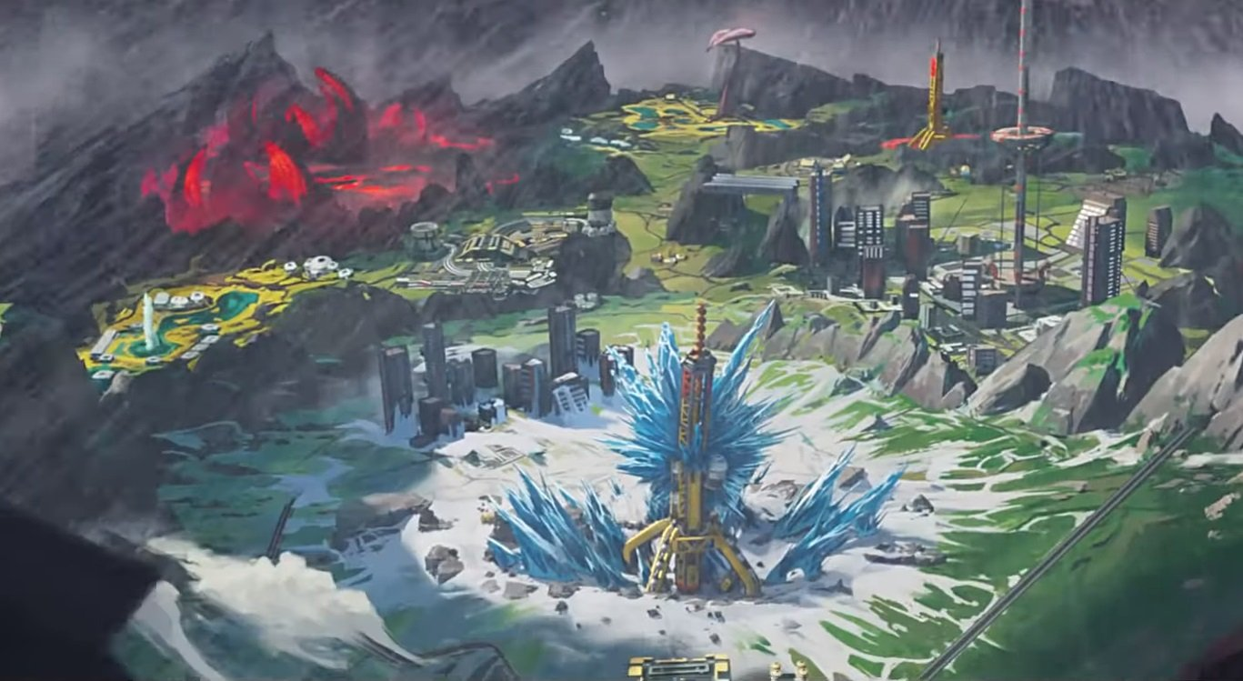 Everything you missed in the World's Edge trailer for Apex Legends