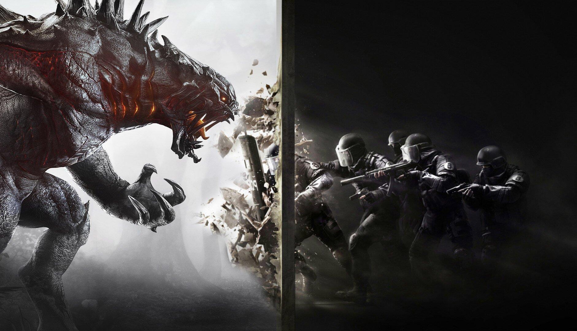 Evolve vs Siege circa. 2015