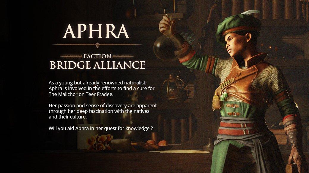 Aphra location Greedfall Companions