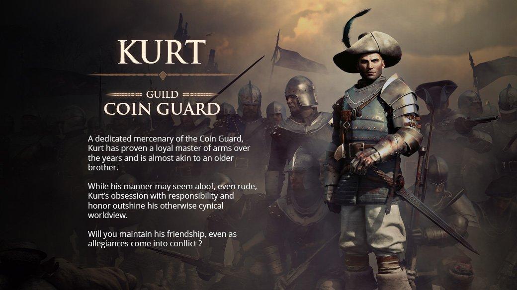 Kurt location all companions in Greedfall