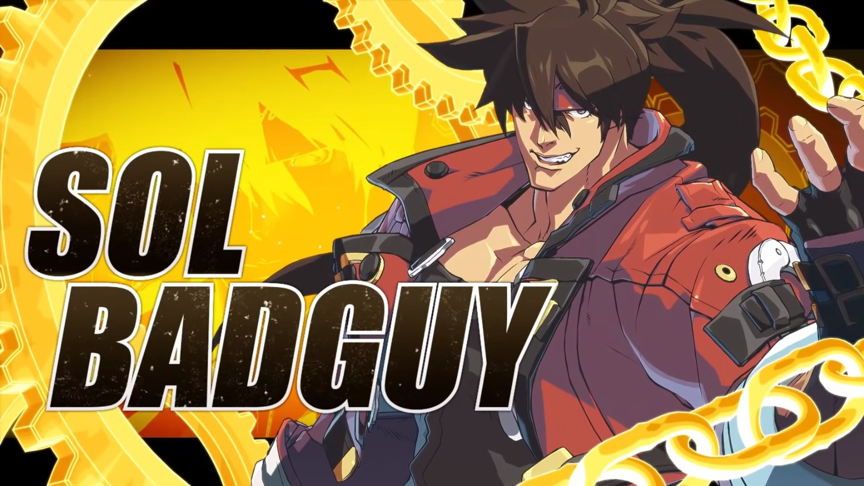Guilty Gear 2020 characters Sol Badguy