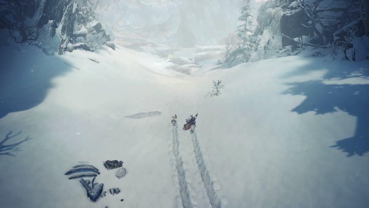 Hot Spring Stone Location in Monster Hunter World Iceborne