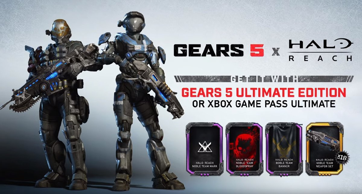 How to get the Spartan Halo Characters in Gears 5