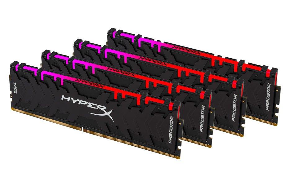 HyperX PREDATOR DDR4 RGB Kit of 4