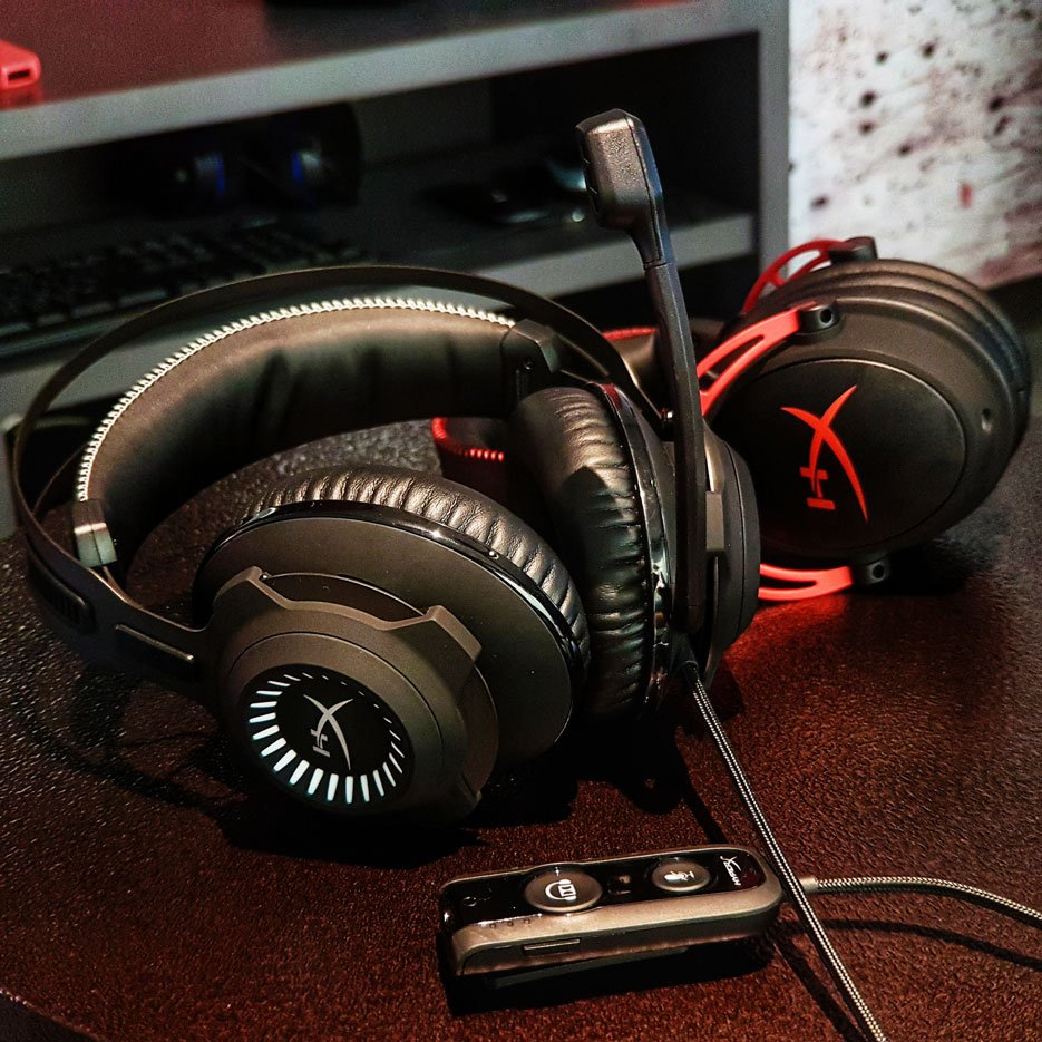 HyperX Cloud Revolver and HyperX Cloud Alpha Gaming Headsets