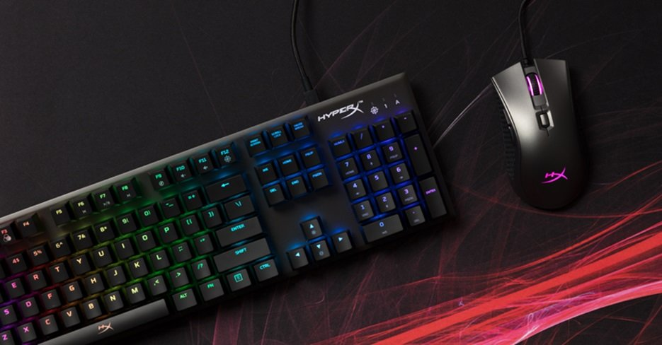 HyperX Alloy FPS RGB Gaming Keyboard and HyperX Pulsefire FPS Pro Gaming Mouse