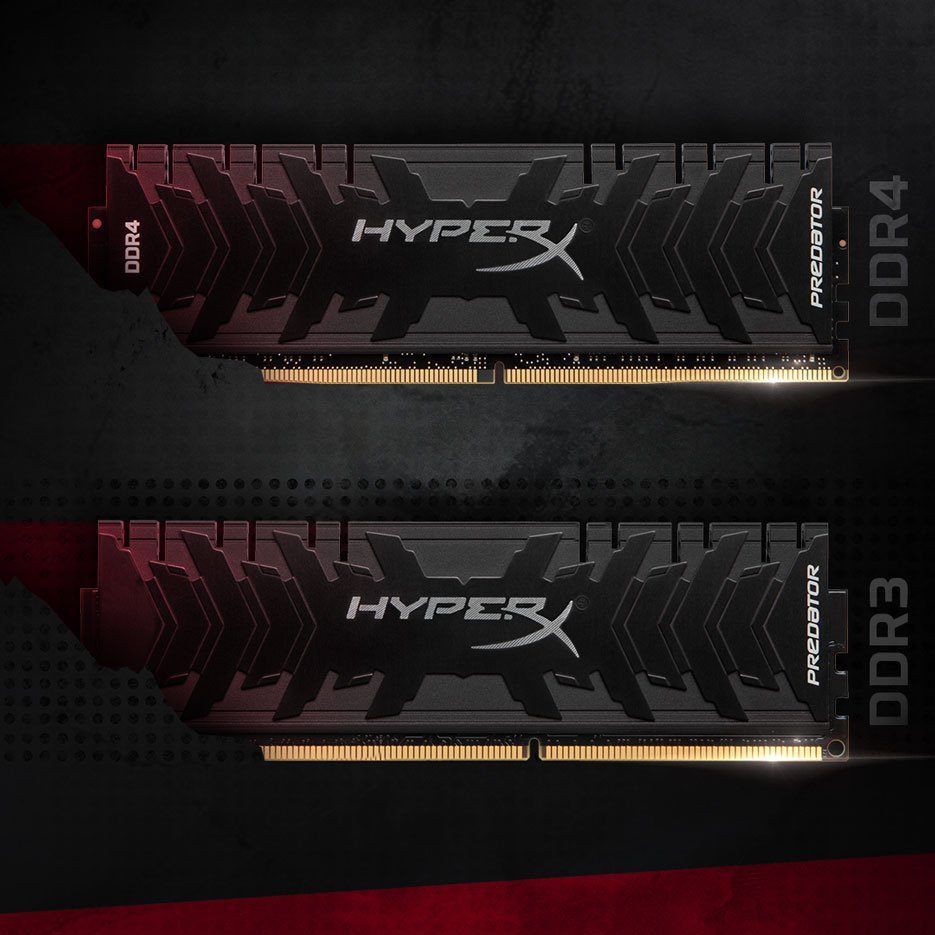 HyperX Predator DDR4 and DDR3 Comparison
