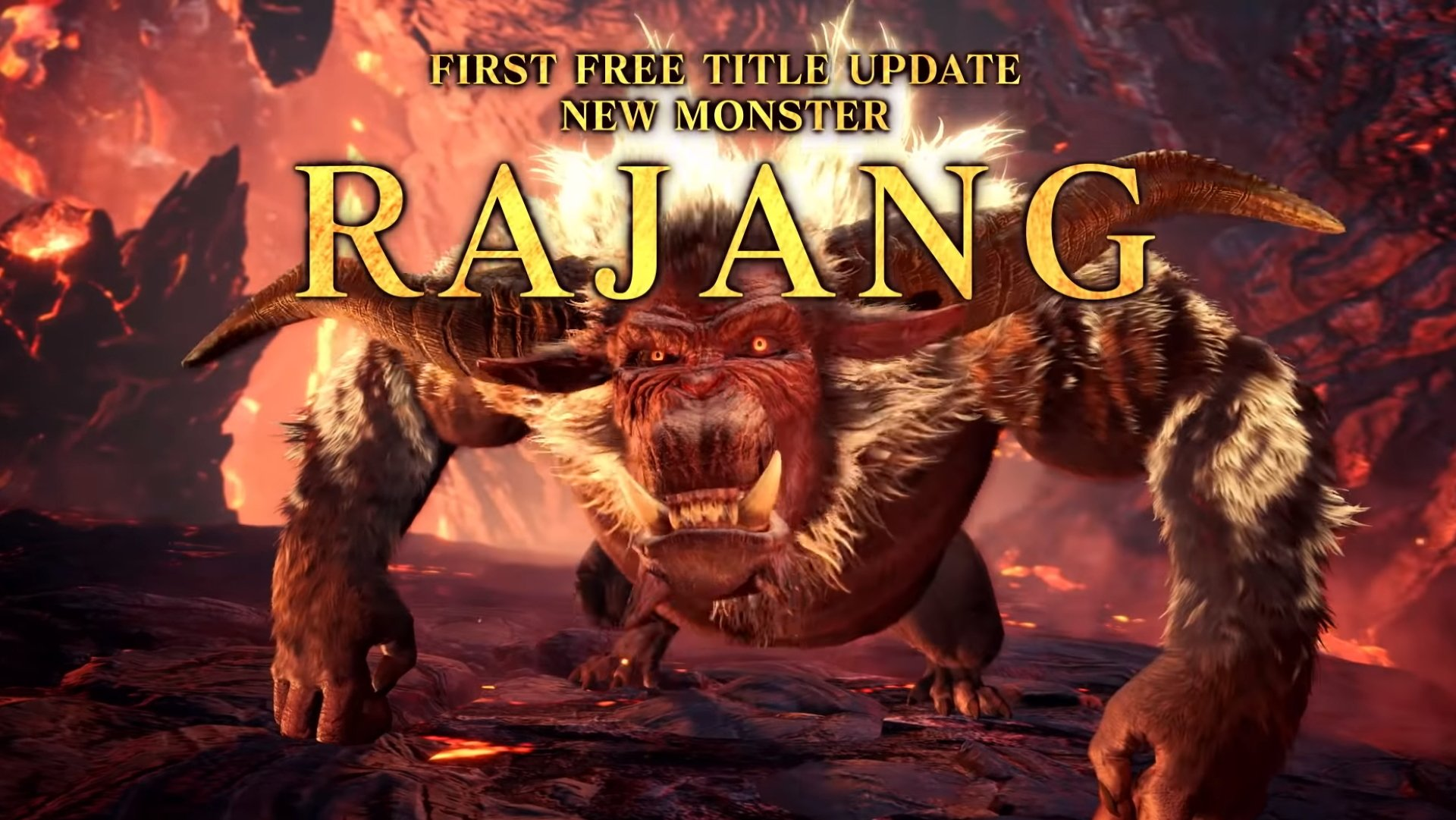 Rajang DLC All New Monsters in MHW Iceborne