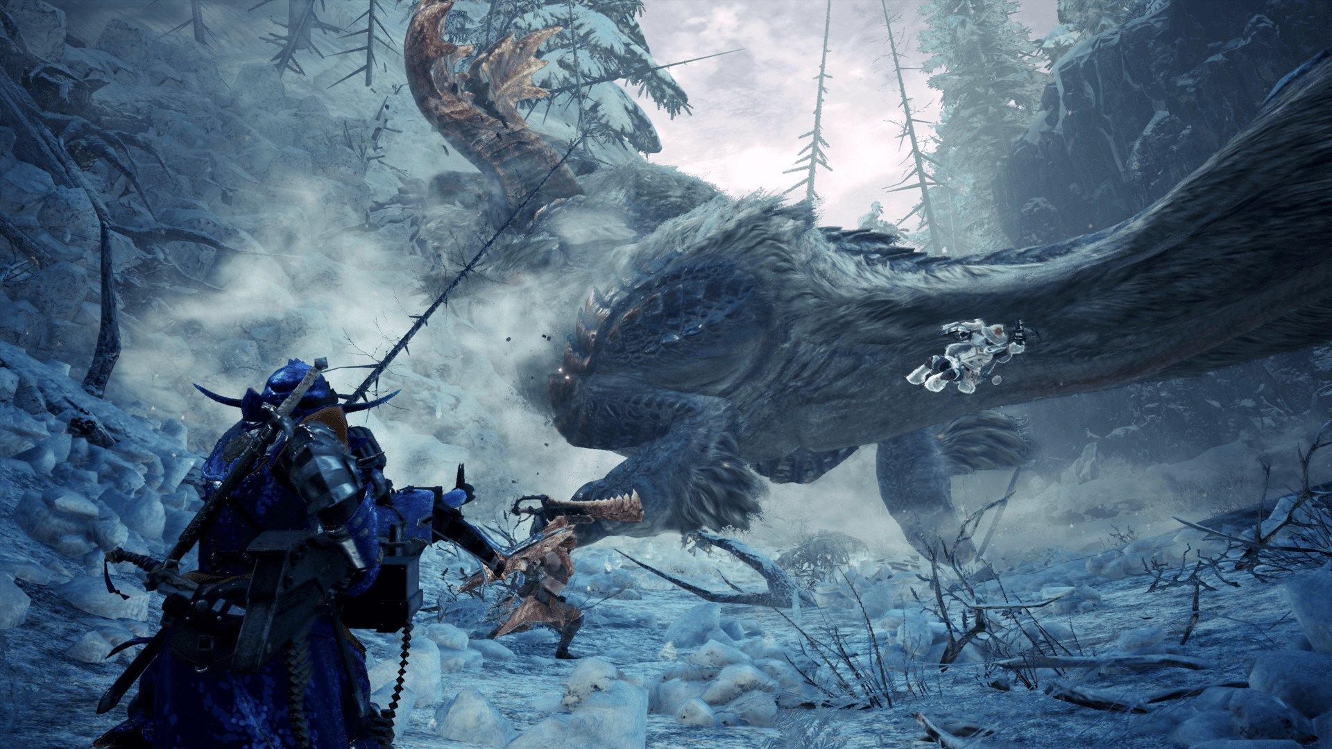 How to start Iceborne in Monster Hunter World