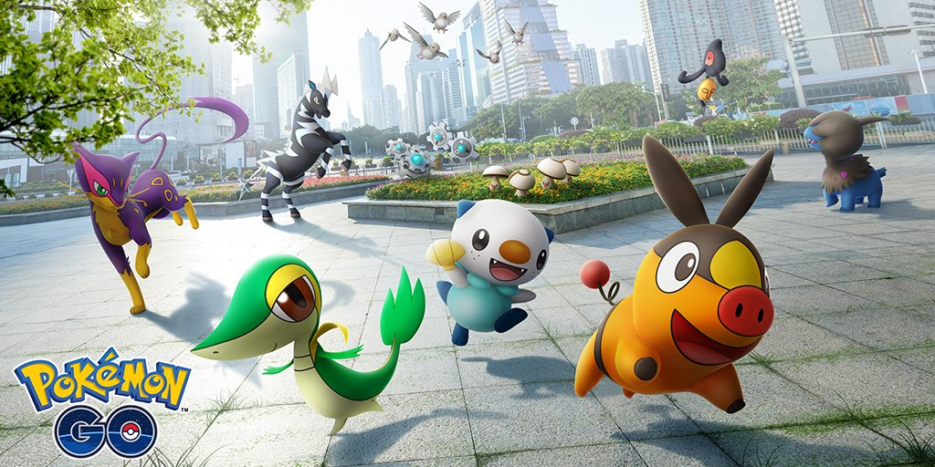 Pokemon GO adds more Gen 5 Pokemon