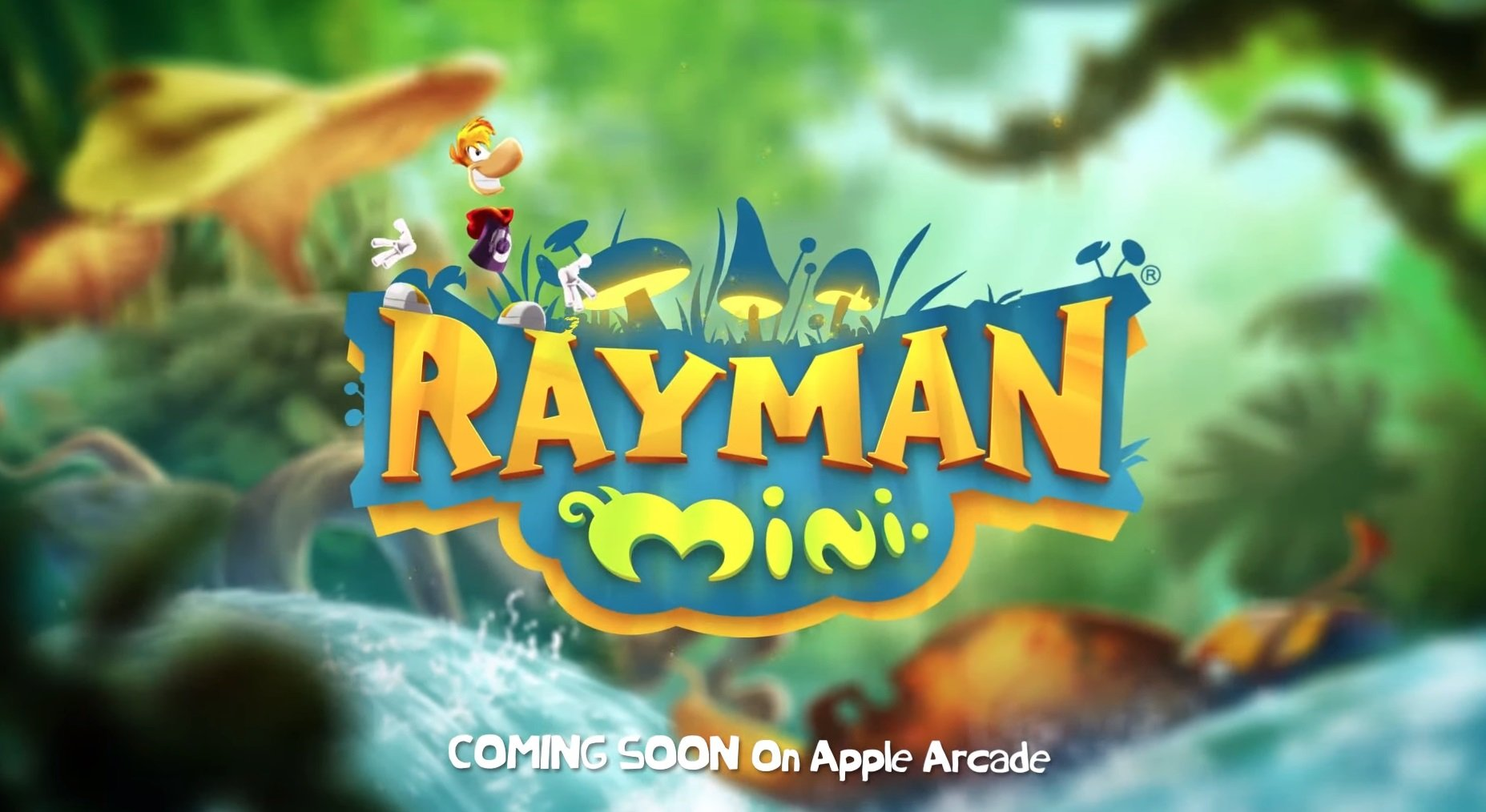 Rayman Mini announced for Apple Arcade
