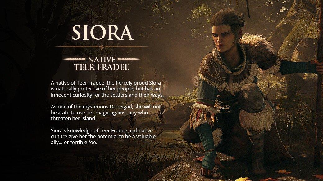 Greedfall Siora companion location