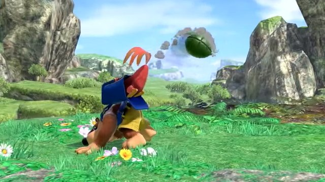 Smash Ultimate Banjo-Kazooie Special Moves Down B