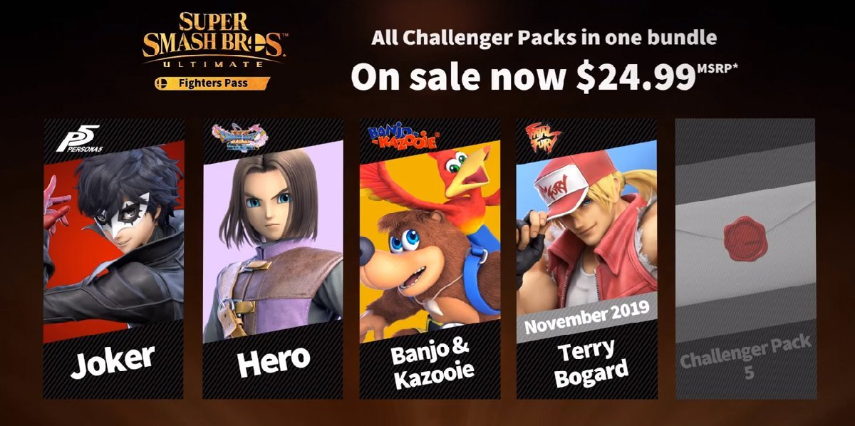 Terry Bogard release date for Smash Ultimate