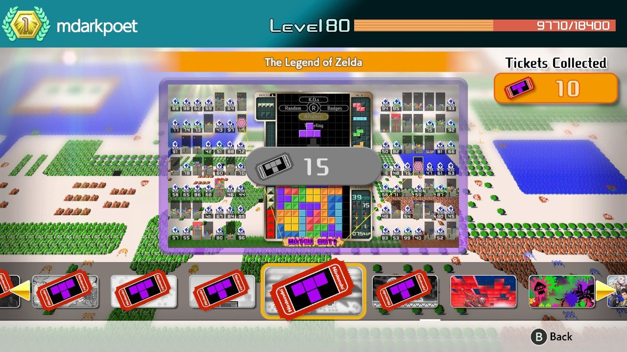 All Themes available in Tetris 99