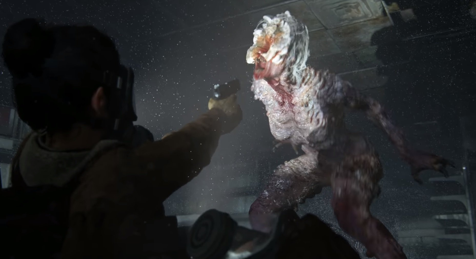 You'll have to defend yourself against Clickers again in The Last of Us Part II.