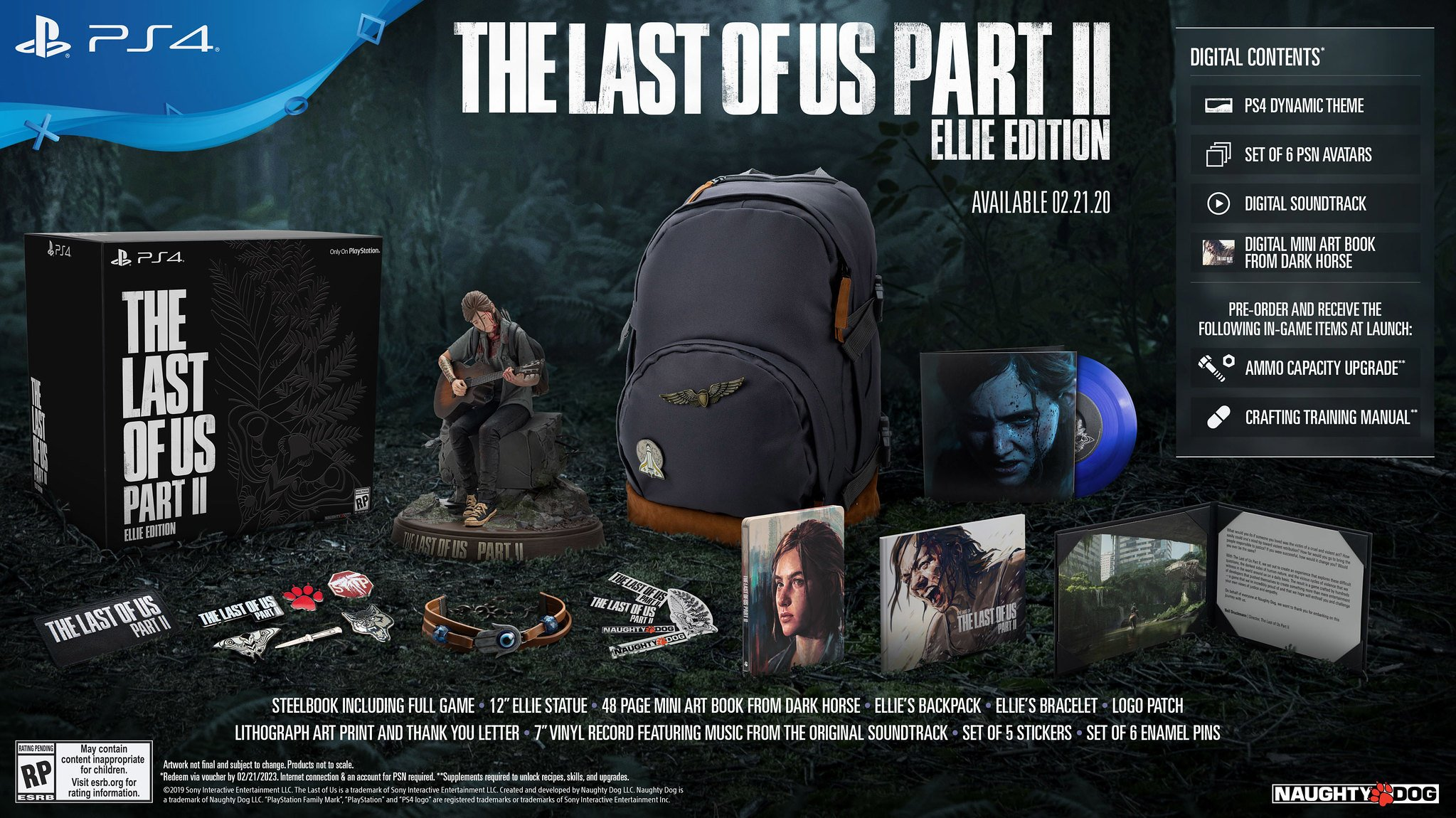 There are several versions of The Last of Us Part II available, including a special