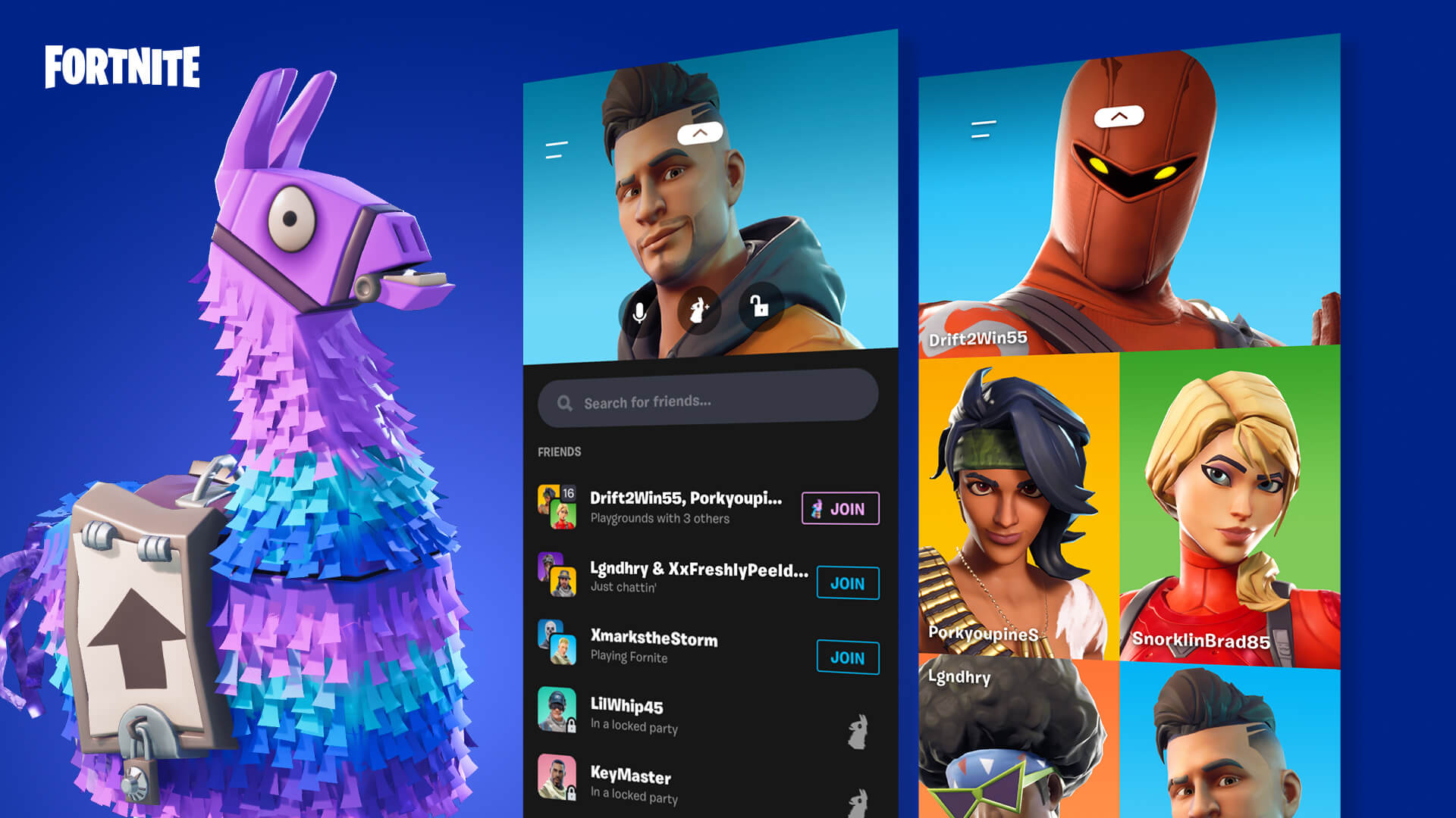 What is the Party Hub in Fortnite?