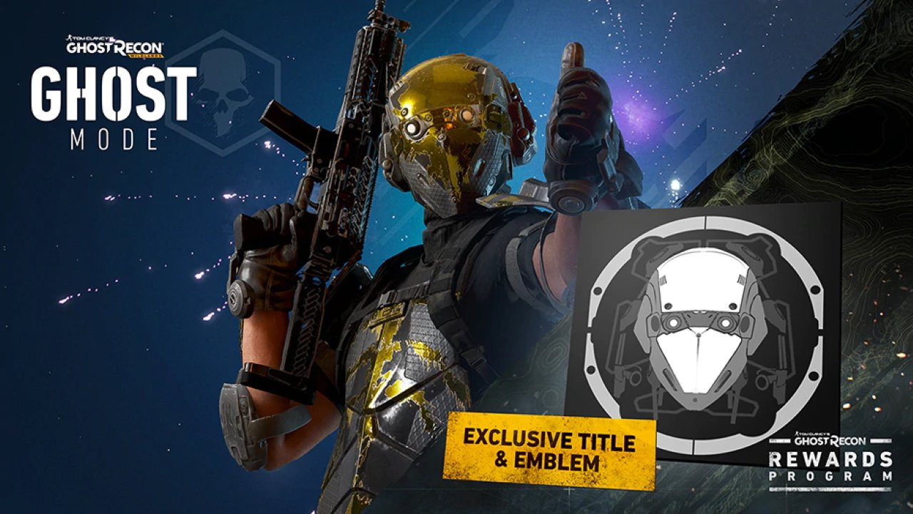 Get rewards skins titles and emblems in Ghost Recon Breakpoint
