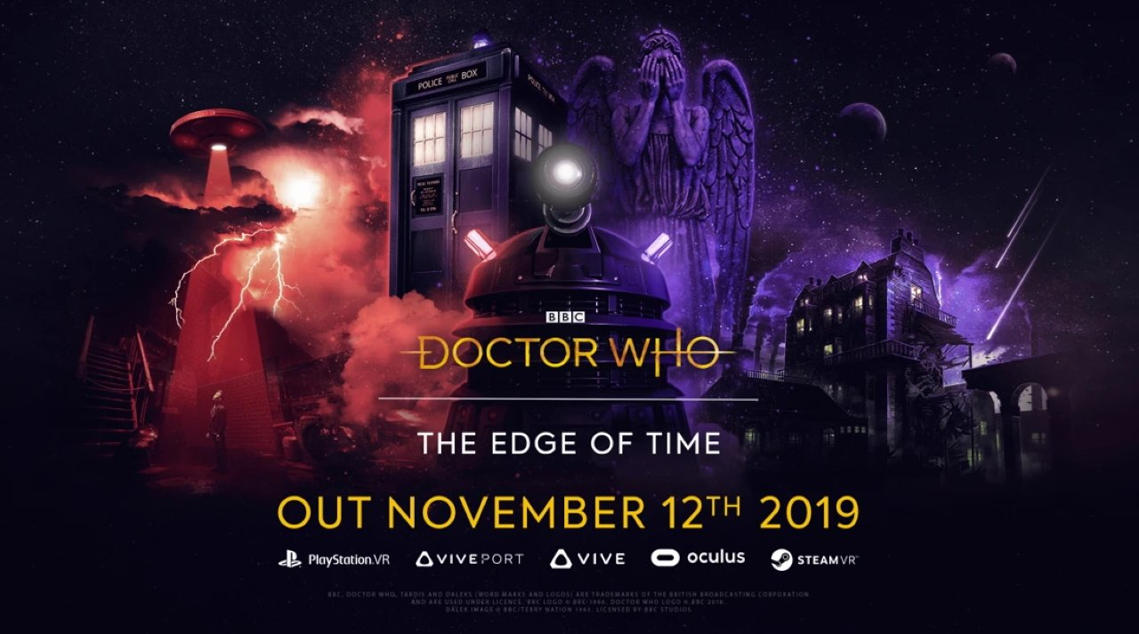 Doctor Who the edge of time VR game release date