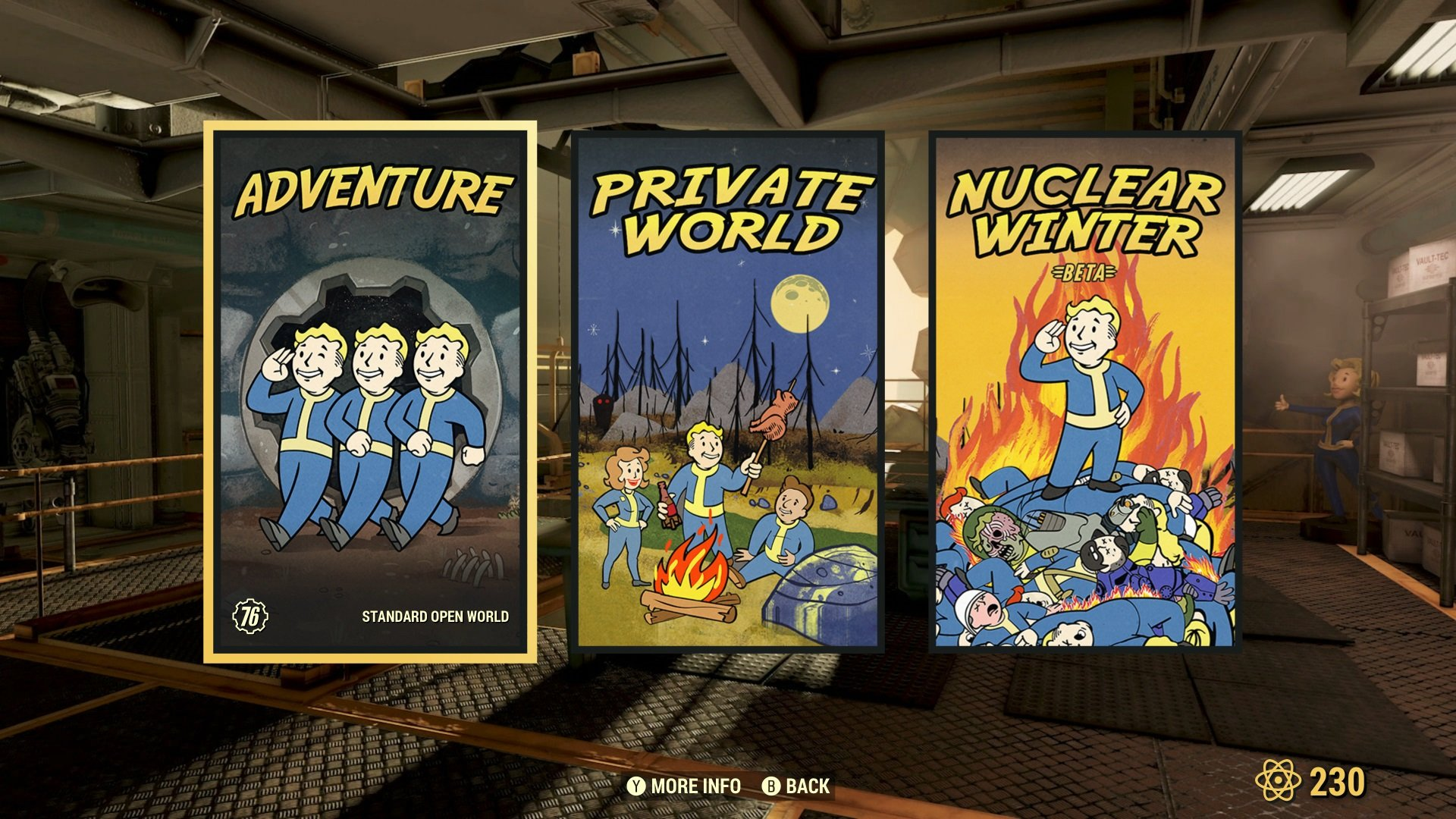 Private servers will be available starting next week to anyone who purchases Private Worlds for Fallout 76.