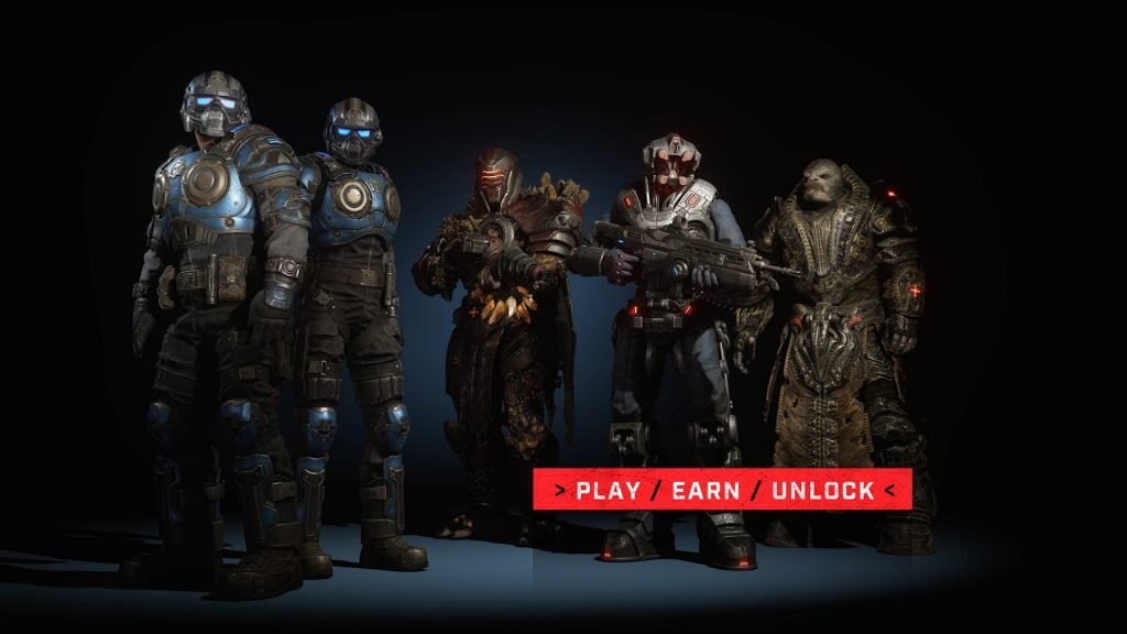 Gears 5 gets four new characters including General Raam today