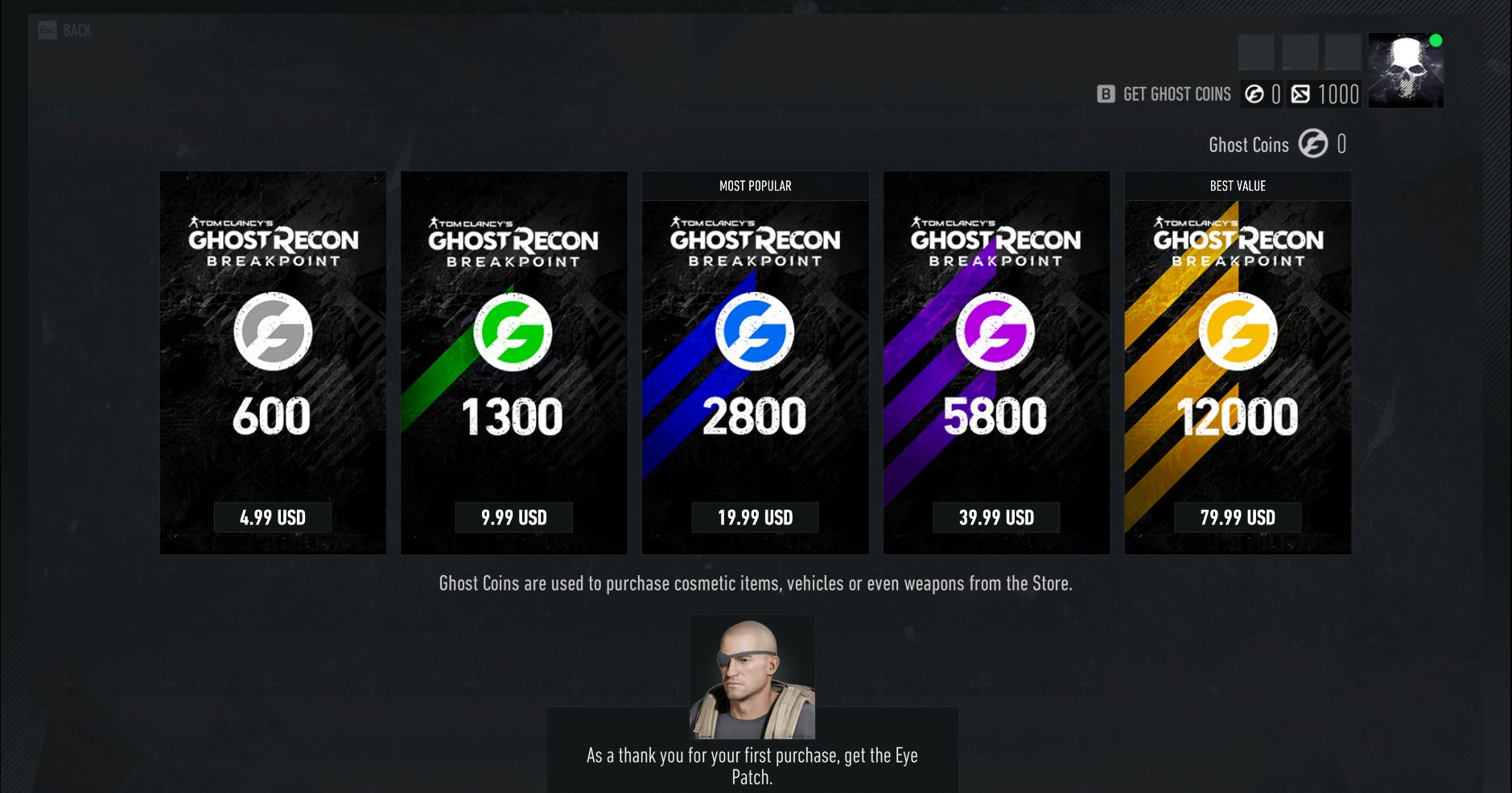 Toxic microtransactions in Ghost Recon Breakpoint