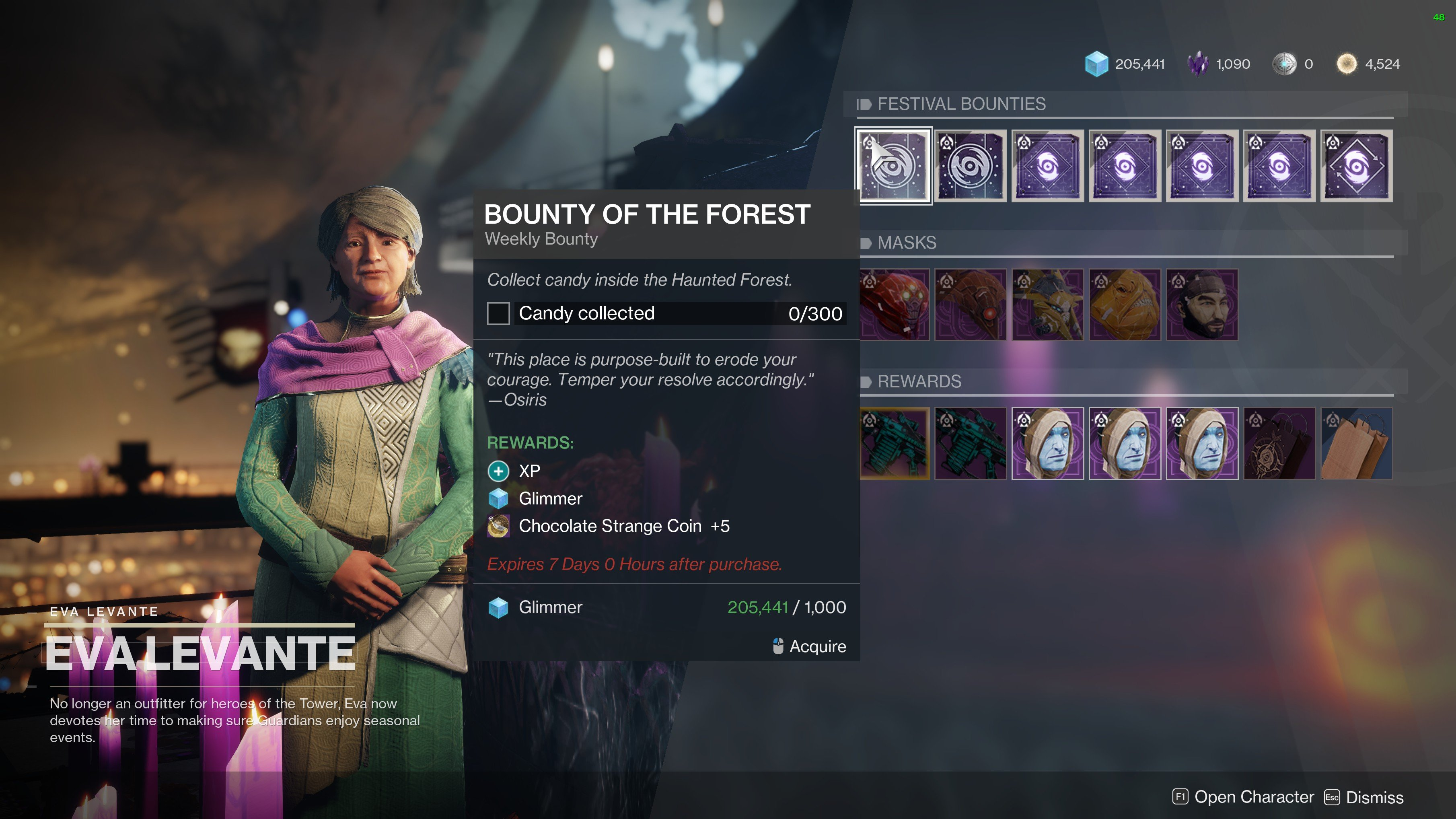 How to farm Chocolate Strange Coins in Destiny 2's Festival of the Lost event.