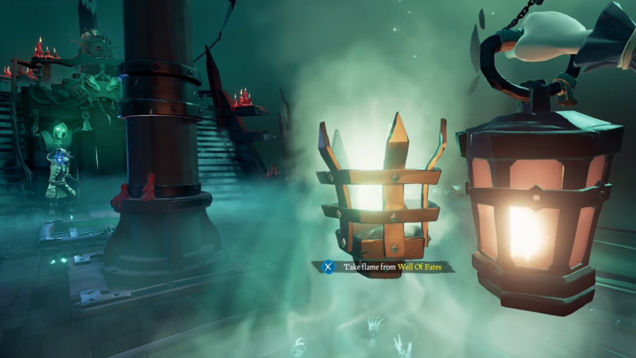 How to get all Flames of Fate in Sea of Thieves