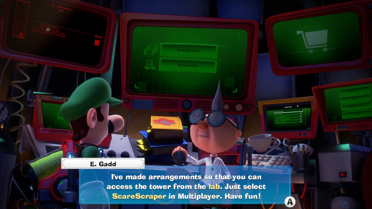 How to unlock online multiplayer in Luigi's Mansion 3
