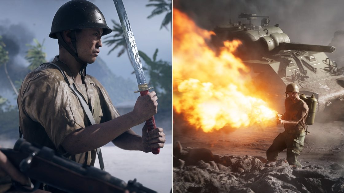 Battlefield 5 Wake Island Iwo Jima return Chapter 5 War in the Pacific